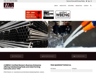 etna.com screenshot