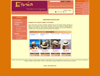 etnia.fr screenshot