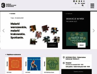 etnomuzeum.eu screenshot