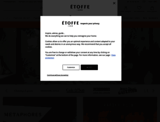 etoffe.com screenshot