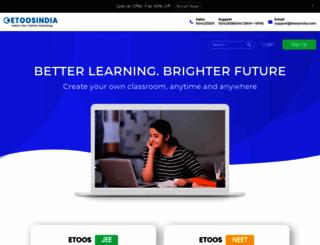 etoosindia.com screenshot