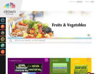 etownmysore.com screenshot