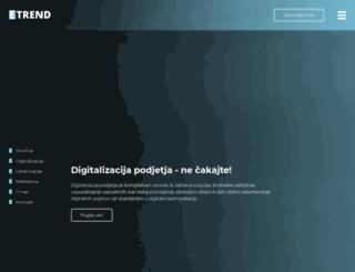 etrend.si screenshot
