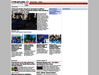 etriatlon.cz screenshot