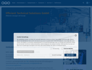 ets-tec.de screenshot