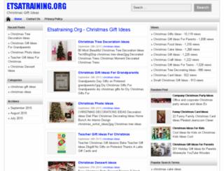 etsatraining.org screenshot