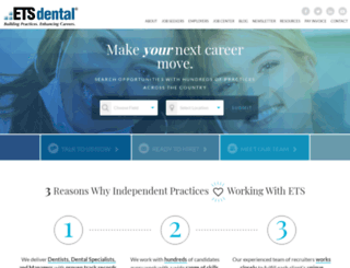etsdental.com screenshot