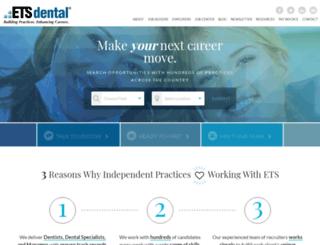 etsdental.com screenshot
