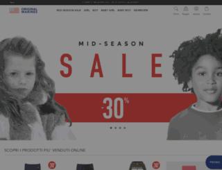 eu.originalmarines.com screenshot