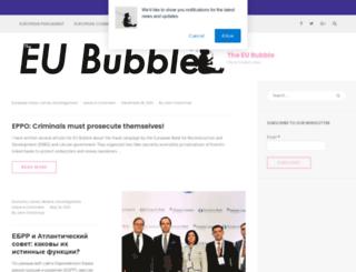 eububble.com screenshot