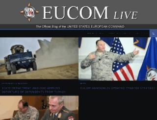 eucom.dodlive.mil screenshot