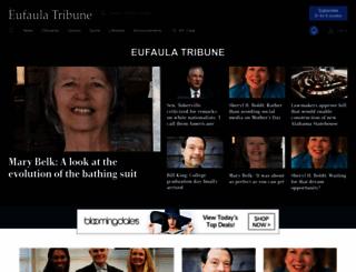 eufaulatribune.com screenshot