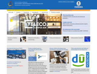euitt.upm.es screenshot