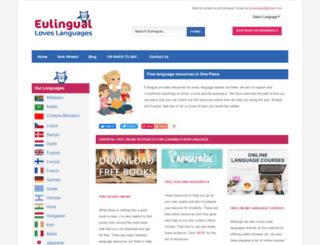 eulingual.com screenshot