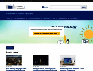 eumayors.eu screenshot