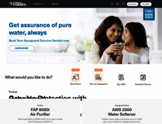 eurekaforbes.com screenshot