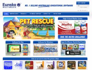 eurekamultimedia.com.au screenshot