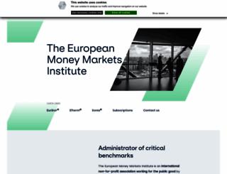 euribor.org screenshot