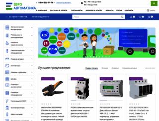 euro-avtomatika.ru screenshot
