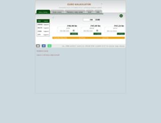 euro-kalkulator.bafer.org screenshot