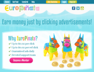 euro-pinata.com screenshot