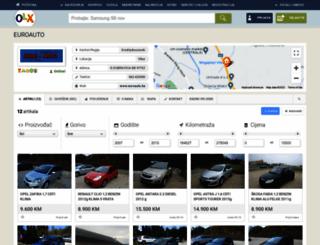 euroauto.pik.ba screenshot