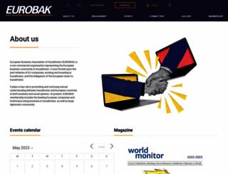 eurobak.kz screenshot