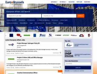 eurobrussels.com screenshot