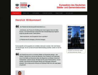 eurocommunal.eu screenshot
