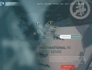 eurocorps.net screenshot