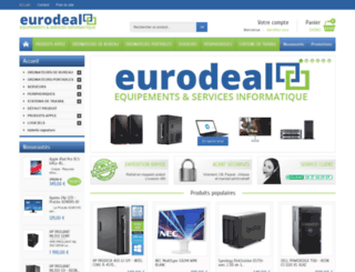 eurodeal.fr screenshot