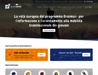 eurodesk.it screenshot