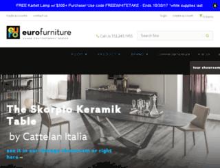 Eurofurniture.com Screenshot