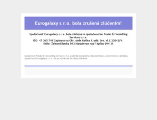 eurogalaxy.sk screenshot
