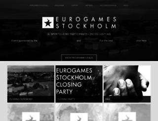 eurogamesstockholm.com screenshot