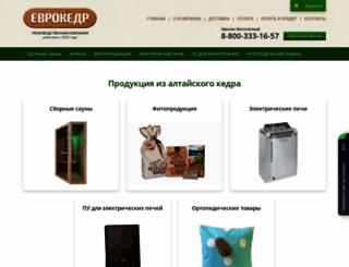 eurokedr.ru screenshot