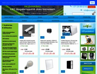 euroled.lv screenshot