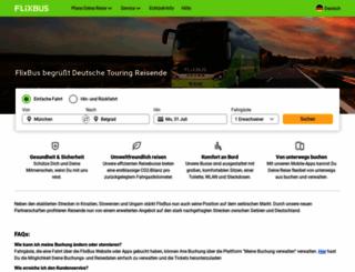 eurolines.com screenshot