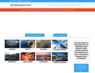 eurolinguastudy.com screenshot