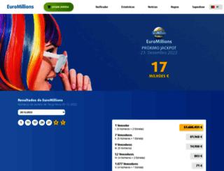 euromilhoes.com screenshot