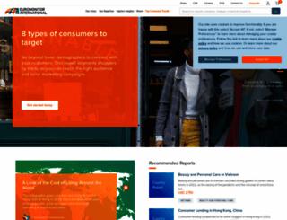 euromonitor.com screenshot