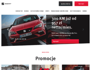 euromotor.pl screenshot