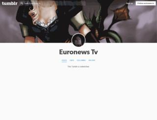 euronews-tv.tumblr.com screenshot