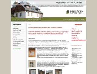 eurookna-truhlarstvi.cz screenshot
