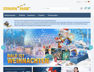 europapark-shop.de screenshot