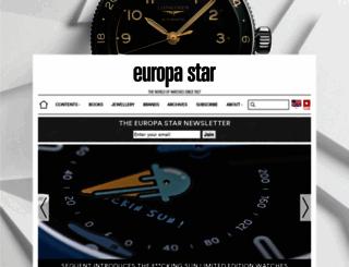 europastar.com screenshot