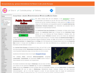 europaurlaub.org screenshot
