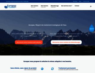europaz.fr screenshot
