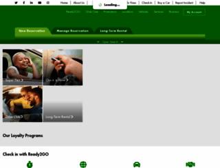 europcar.co.za screenshot