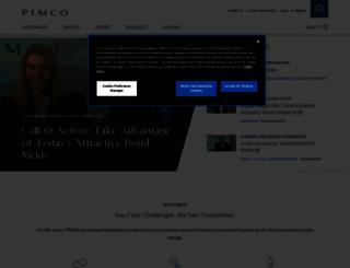 europe.pimco.com screenshot